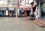 Monzunový déšť v Amritsaru