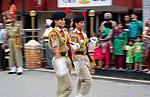 Indické vojačky ve Wagah-Attari
