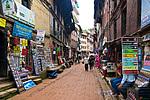 Uličky v Bhaktapuru