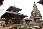 Durbar Square v Bhaktapuru