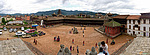 Panorama pořízené z chrámu Fasidega