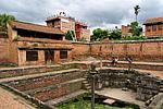 Staré lázně v paláci v Bhaktapuru