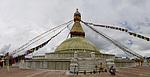Napál - Buddhistická stúpa v Boudha