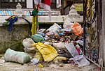 Nepál - Neopřádek na stúpě