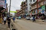 Boudhanath - Hlavní ulice