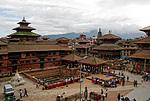 Nepál - Durbar Square v Pátanu