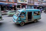 Nepál - Minibus