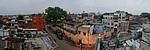 Indie, Agra - ze střechy hostelu