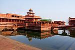 Indie, Fatehpur Sikrí - vodní nádrž