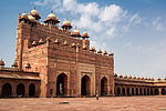 Indie, Fatehpur Sikrí - Buland Darwaza zevnitř