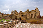 Indie - Jantarová pevnost (Amer Fort) 2