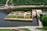 Indie - zahrady Kesar Kyari v Amer Fort