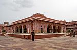 Indie - Sarvato Bhadra Chowk v Jaipuru
