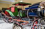 Indie - výstava kočárů v Jaipuru