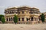 Indie - Mubarak Mahal v Jaipuru