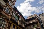 Nepál, Káthmándú, domy