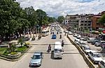 Nepál, Káthmándú, hlavní silnice