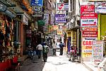Nepál, Káthmándú, ulice ve čtvrti Thamel