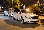 Indie - Škoda Superb a Octavia v Novém Dillí
