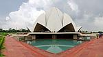 Indie - Lotosový chrám v Novém Dillí