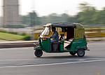 Indie - Tuk-tuk v Novém Dillí