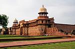 Indie - Červená pevnost v Agře (Agra Fort)