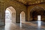 Indie - V areálu pevnosti v Agře