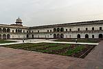 Indie - Zahrady v pevnosti v Agře (Agra Fort)