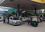 Indie - Čerpací stanice
