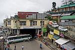 Indie - autobusové nádraží v Shimle