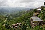 Indie - pohled z vlaku ze Shimly