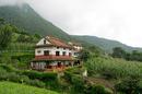 Místní obydlí v Nepálu