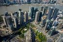 Výhled ze Shanghai Tower