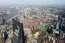 Výhled ze Shanghai Tower 2