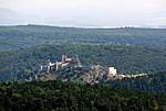 Čachtický hrad - hrad z dálky