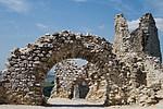 Čachtický hrad - ruiny hradu