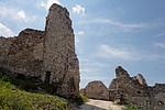 Čachtický hrad - vnitřek hradu