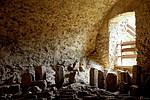 Beckov - sklepení hradu Beckov