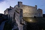 Beckov - hrad Beckov z věže