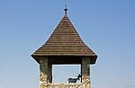 Trenčín - kozy na věži Trenčínského hradu