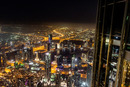 Pohled z mrakodrapu Burj Khalifa