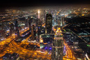 Pohled z mrakodrapu Burj Khalifa (2)